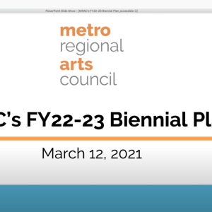 Biennial Public Plan Meeting