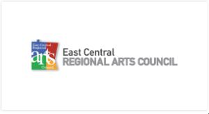East Central Regional Arts Council logo