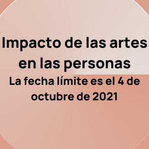 Directrices del Impacto de las artes en las personas
